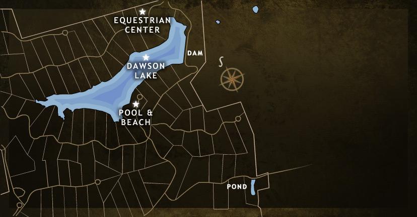 Dawson Lake Map